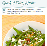 Quick & Dirty Kitchen blog
